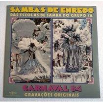 Lp Sambas De Enredo Carnaval 84 Grupo 1a Top Tape