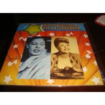 Lp - Raro - Billie Hollday E Ella - Album Duplo