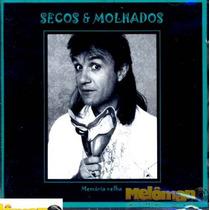 Secos & Molhados - João Ricardo Cd Memória Velha Autografado