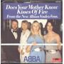 Abba Compacto De Vinil Import Does Your Mother Know 1979