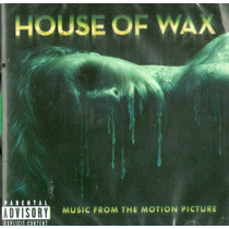 Cd House Of Wax - Music From The Motion Picture - Novo***