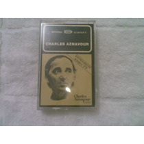 Fita K7 Charles Aznavour 1982 Oro