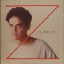 Lp Zé Ramalho De Gosto,de Água E De Amigos Epic 1985+encarte