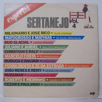 Lp Especial Sertanejo Vol 4 - Seta - 1986