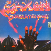 Lp - Saxon - Power & The Glory - Vinil Raro