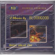 Lote 2 Cds Bloodgood-kmg-import- Stryper Saxon Melodic Metal