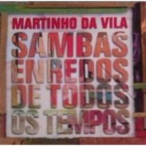 Cd Martinho Da Vila - Sambas Enredo De Todos Os Tempos