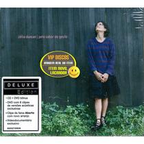 Zelia Duncan Dvd + Cd Pelo Sabor Do Gesto Deluxe Edition