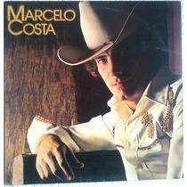 Lp Disco Marcelo Costa - 1981 Vinil