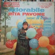 Rita Pavone Adorabile Martelo- Compacto Vinil Rca Victor