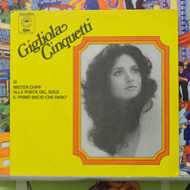 Gigliola Cinquetti Mister Chipp - Compacto Vinil Epic 1974