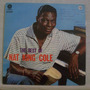 Lp Nat King Cole - The Best Of - Capitol - 1985