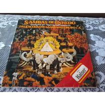 Sambas De Enredo Carnaval 89 - Disco Vinil Lp Duplo