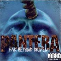 Cd Pantera - Far Beyond Driven (original Importado Usa )