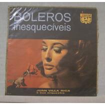 Lp Juan Villa Rica - Boleros Inesquecíveis - Imperial - 1966