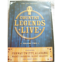 Dvd Country Legends Live Volume 2 Time Life Importado U.s.a
