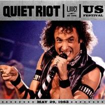 Cd/dvd Quiet Riot Live At The Us Festival 1983 =import= Novo