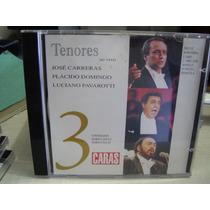Cd Tenores, Vol. 3 Placido-carreras-pavarotti Frete 8,00 R$
