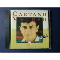 Cd Caetano Veloso- Minha História- Original