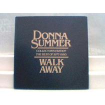Lp Donna Summer Walk Away Collector