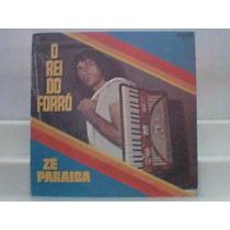 Ze Paraíba O Rei Do Forro - Lp Vinil Cartaz Lpc - 5180