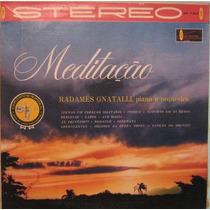 Radamés Gnatalli Piano & Orquestra - Meditação - Stereo