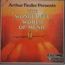 Arthur Fiedler Caixa Com 10 Lps The Wonderful World Of Music