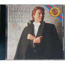 Cd Sibelius - Symphony Nº 5 - Esa-pekka Salonen (import)