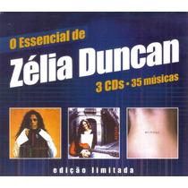 Cd Zelia Duncan - Caixa Com 3 Cd