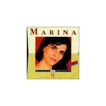 Cd Marina Minha Historia Cp Plastico Trad