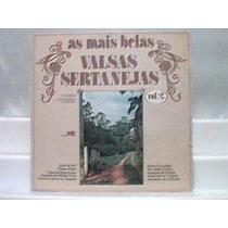 Lp Vinil As Mais Belas Valsas Sertanejas Vol. 2 - Seta 1981