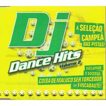 Dj Dance Hits Vol 2 Cd Coletanea House/techno