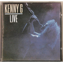 099 Cdm- Cd 1990- Kenny G- Live- Orquestra Instrumental
