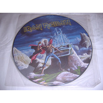 Ep Picture Iron Maiden - Run To The Hills Live
