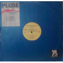 Plebe Rude Maxi Single Vinil A Serra 1988