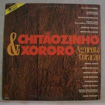 Lp Chitãozinho E Xororó - Aguenta Coração - Som Livre - 1991