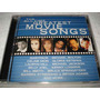 Cd The All Time Greatest Movie Songs - Filmes - Made Japan