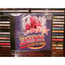 Cd - Forro Zanzibar Nova Geraçao Do Forro