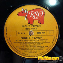 Bee Gees 1978 Night Fever / Down The Road Compacto