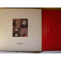 Lp - Pet Shop Boys Behaviour Com Encarte 1990