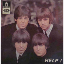 Beatles Compacto Vinil Help! Import França Mono