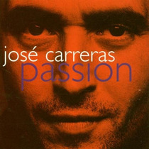 Cd Jose Carreras Passion 1996