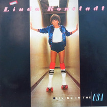 Lp Linda Ronstadt Living In The Usa Vinil Raro