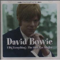 Cd David Bowie 1966 Pye Singles Original Raridade.