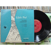 Edith Piaf Encores Parisiennes Lp Columbia Importado 10 Pol