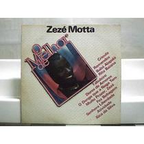 Zeze Motta O Melhor De Crioula Lp Vinil Atlantic 1981