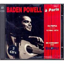 Cd Baden Powell - À Paris - Olympia 12 Mai 1974 - Duplo