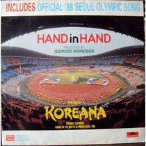 Lp Vinil - Hand In Hand - Koreana - 1988
