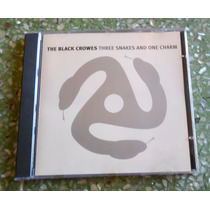 Cd Black Crowes - Three Snakes And One Charm.