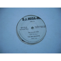 Dj Mega-mix Vol 4 - 12 Importado Us